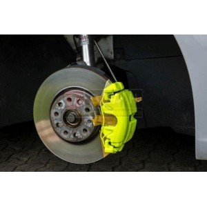 Bremssattellack Set - Neon Gelb