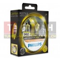 Fahrzeuglampe - Philips Color Vision H4 - Gelb