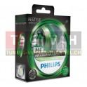 Fahrzeuglampe - Philips Color Vision H4 - Grün