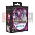 Fahrzeuglampe - Philips Color Vision H4 - Pink