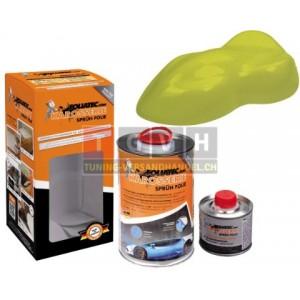 Karosserie Foliatec - Mustard Green Metallic Matt 1L