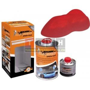 Karosserie Foliatec - Racing Red Metallic Matt 1L