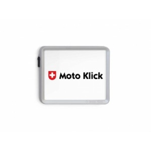 Motoklick - Nummernrahmen Chrom matt