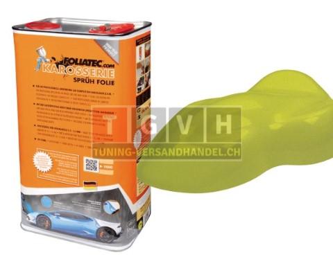 karosserie foliatec mustard green metallic matt 5l. Black Bedroom Furniture Sets. Home Design Ideas